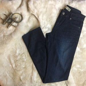 David Kahn Denim - David Kahn Dark wash straight leg jeans