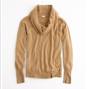 J Crew Factory RED Cowl Neck Sweater
