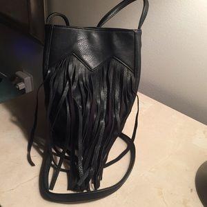 Fridge cross body bag with long strap