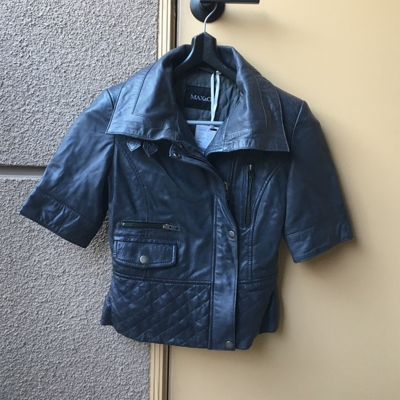 the best attitude c11bb c2f96 Max&Co leather jacket
