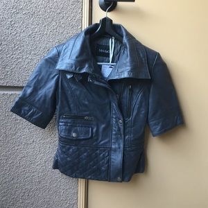 Max & Co. Jackets & Blazers - Max&Co leather jacket