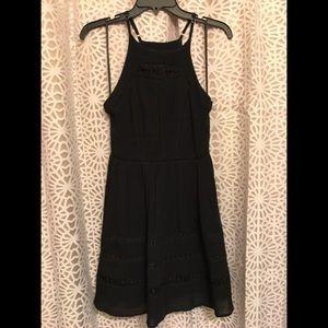 NWOT Sam Edelman Black Crochet Dress