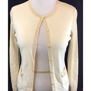 NWT Ann Taylor loft cream colored cardigan