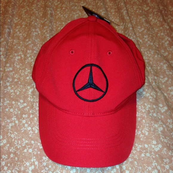111018de5ff95 New Red Nike Mercedes hat