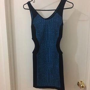 Bebe cut out dress