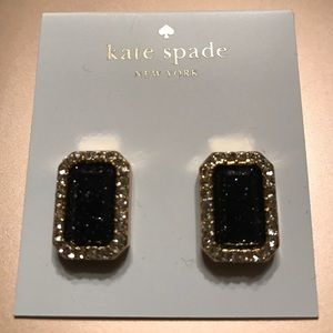 New Kate Spade Black Earrings