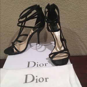Authentic Christian Dior strap sandals