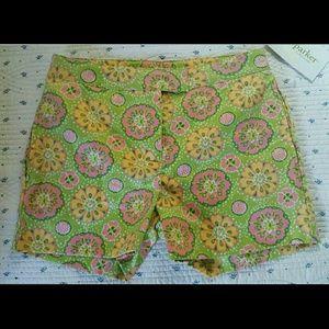 Hartstrings Other - KC PARKER Hartstrings Printed Adj Waist Shorts