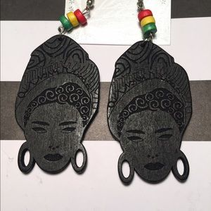 Jewelry - Afrocentric Lady Earrings