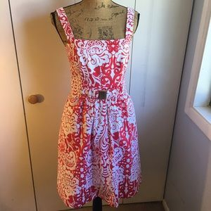 Shoshanna Dresses & Skirts - ✨SHOSHANNA RED FLORAL DRESS✨