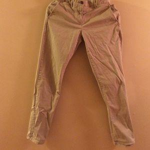 Gap broken-in straight khakis size 4