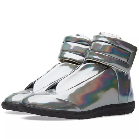 Maison Martin Margiela Shoes - Maison Margiela future silver women sneakers 47844070ba