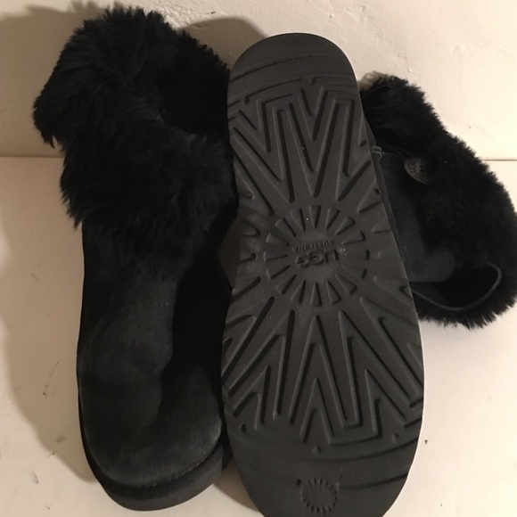 ugg bailey button boots womens black 5803