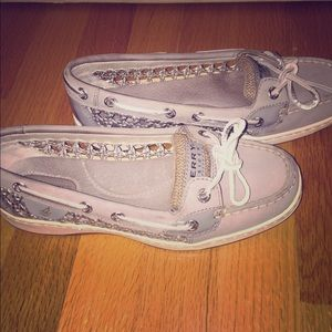 SPERRY TOP-SIDE ANGELFISH CANE WOVEN