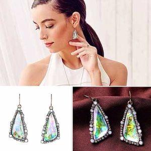 ❣LAST❣ Clear Dangle Crystal Statement Earrings