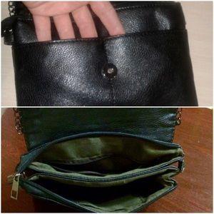Bags   Vintage Small Black Alligator Chain Crossbody Bag   Poshmark 644718301a