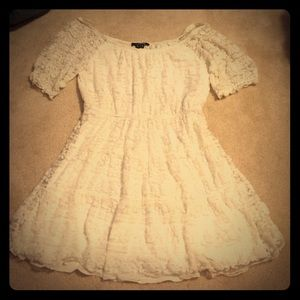 My Michelle Dresses & Skirts - Beautiful ivory lace dress