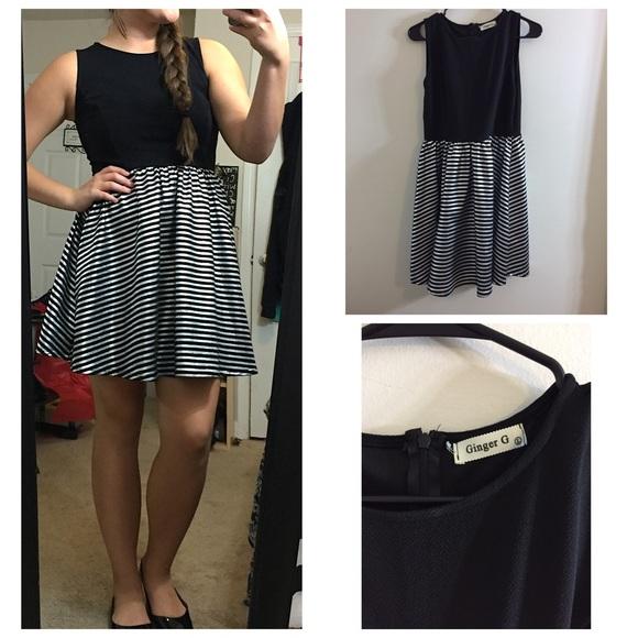 Ginger g black dress 2016