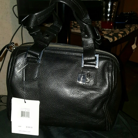 4dd4c5e3ffd Calvin Klein Bags | Mini Duffle Bag Black Leather | Poshmark