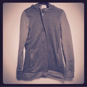 Lola Getts Active Tops - Grey Hoodie