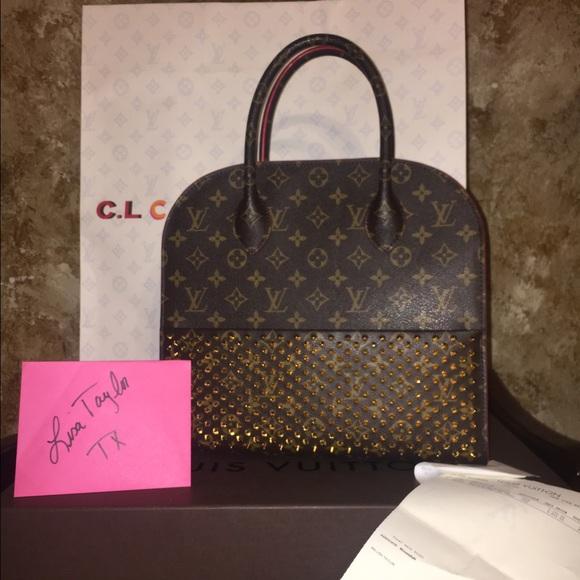 e1e427efb6a Louis Vuitton & Christian louboutin shopping mono