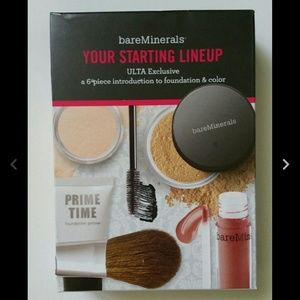 bareMinerals Other - BAREMINERALS 6PC STARTING LINEUP RARE MED TAN NWT