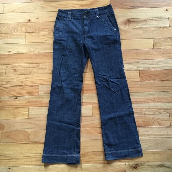 77% off Eddie Bauer Denim - Tall wide leg flare jeans from ...