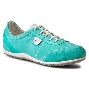 Geox Shoes - Geox light green Vega sneakers