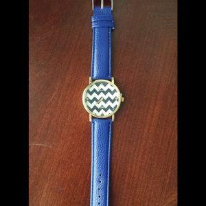 Geneva Accessories - BLUE GENEVA WATCH