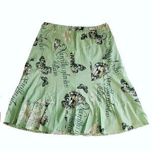 LOFT Dresses & Skirts - Butterfly print skirt mini Ann Taylor LOFT 2P