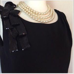 MAGNOLIA Dresses & Skirts - Black Dress with EXTRAS!