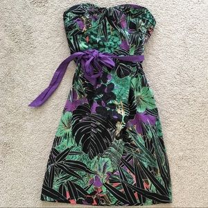Anthropologie Dresses & Skirts - Anthropologie Edme Esylite Floral Strapless Dress