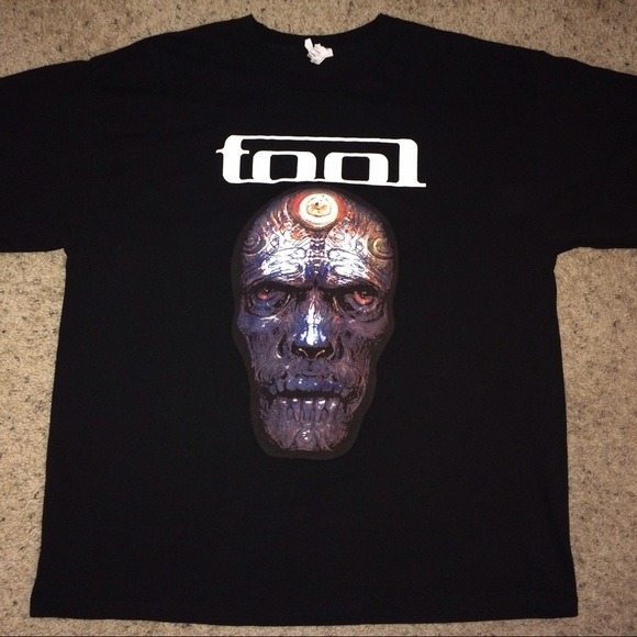 Tool Band american tour 2014 tee shirt