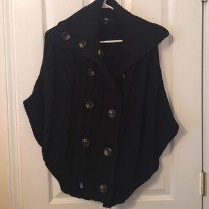 Sweaters - Button Up Cloak