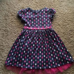 Sweet Heart Rose Other - Sweet Heart Rose grey polka-dot dress