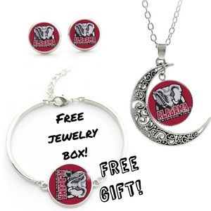 NCAA Jewelry - University of Alabama Roll Tide 3 Piece Set
