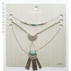 Topshop Jewelry - {topshop} layered statement necklace