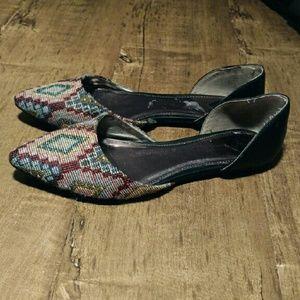 Shoes - D'orsay Flats