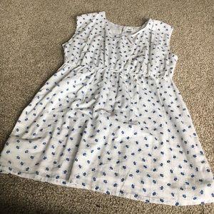Old Navy Cotton Flower Print Dress
