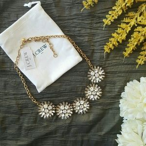 NWT J. CREW | CRYSTAL STATEMENT NECKLACE