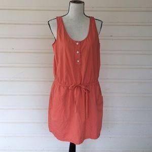 ❗️J Crew Cotton Coral Sun Dress