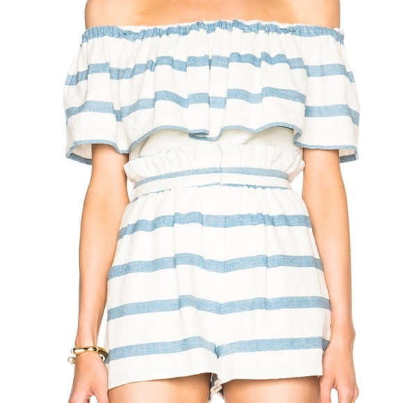 Mara Hoffman Other - SALE❗️Mara Hoffman Off Shoulder Striped Top