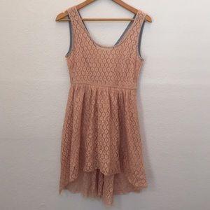 Very J Dresses - Very j high low eyelet dress