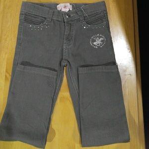 Gray Girls jeans