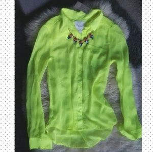 NWT American Eagle neon top
