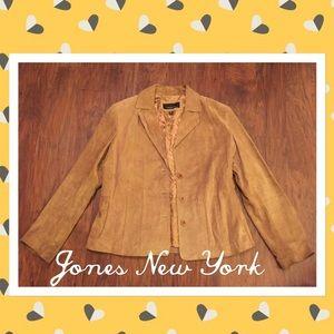 Sale Jones New York size XL leather jacket