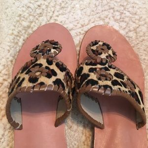 d61e24789513 Jack Rogers Shoes - Jack Rogers Leopard Calf Hair Sandals