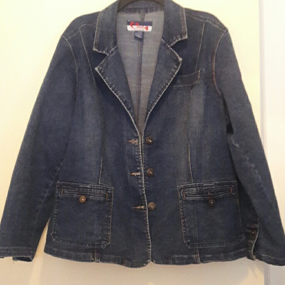 Jackets & Coats - Denim Blazer