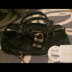 Chloe Paddington Bag Black