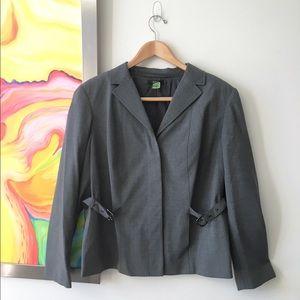 "Alfani Jackets & Blazers - ALFANI Grey ""Wool"" Suit Jacket (16W)"